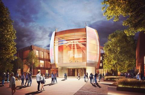 Tate Harmer's Creative Centre, designed for York St John University