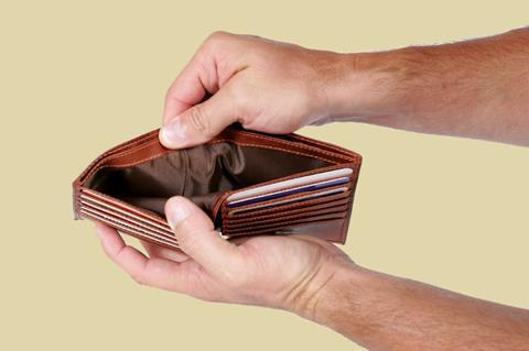 istock wallet