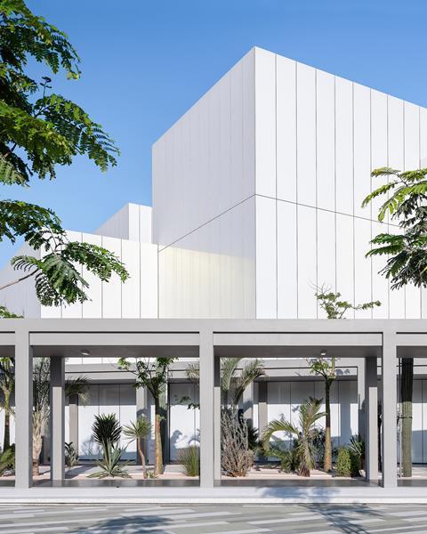 In Pictures London Architect S Dubai Arts Centre Opens News Building