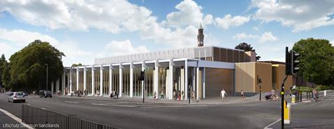 University of Birmingham sports facility by Lifschutz Davidson Sandilands