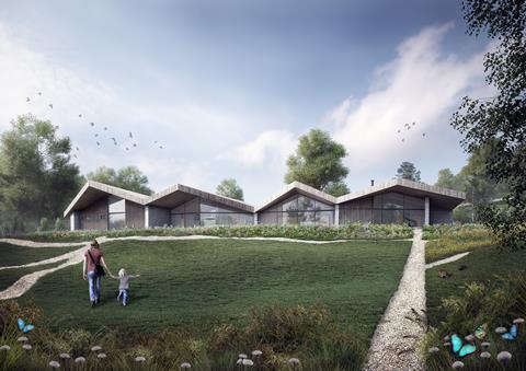 AR Design Studio's 'Hidden House' in the Surrey Hills