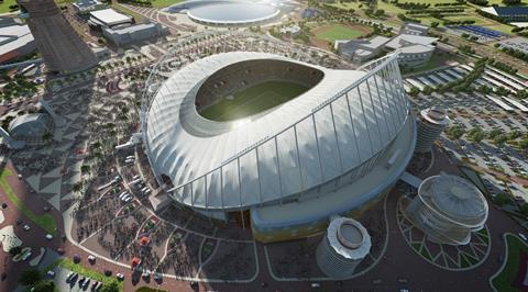 Khalifa stadium Qatar 2022