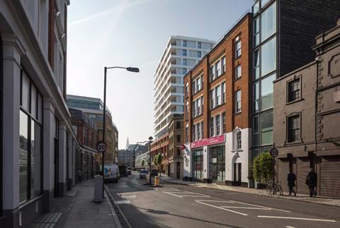 Golden Lane plans by Hawkins Brown