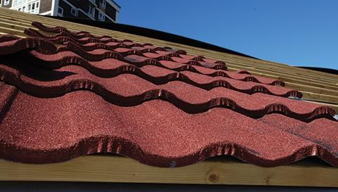 The roof covering for a flat-to-pitched conversion should weigh no more than 10kg/m2