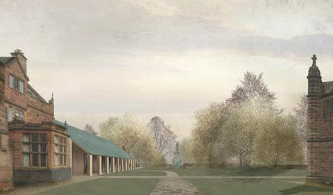 Caruso St John's winning entry in the Gladstone's Library competition