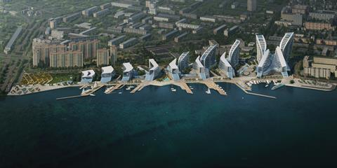 03_ZHA_Admiral Serebryakov Embankment_Render by VA