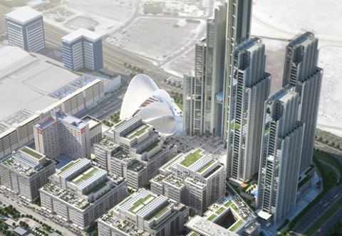 One Central masterplan Dubai