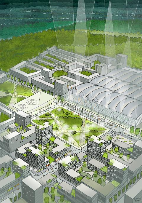 Maccreanor Lavington's Heathrow City proposal