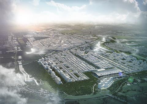 Rick Mather Architects' Heathrow City proposal