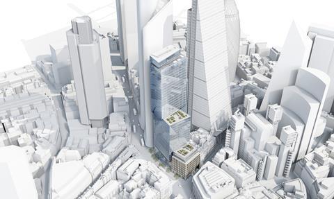 The 6-8 Bishopsgate scheme by Wilkinson Eyre Architects