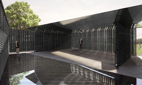 Frida Escobedo's Serpentine Pavilion