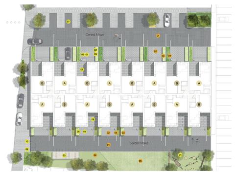 Signal Townhouses plan