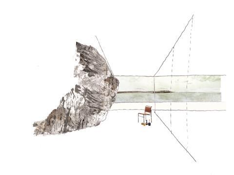 Coffey architects natural geology sketch