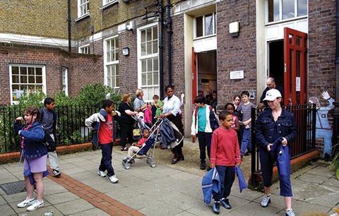 Housebuilders building schools