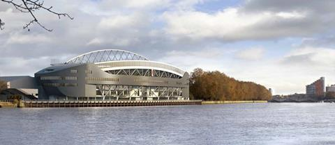 KSS's consented but scrapped Riverside Stand at Fulham's Craven Cottage