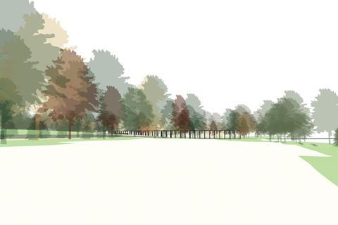 Bushey early sketch