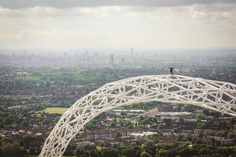James Kingston Wembley Arch