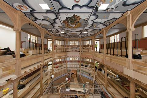 Sam Wanamaker Playhouse interior