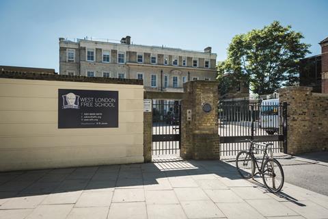 West london free school © alamy