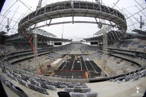 Spurs stadium 5 June 2018
