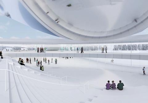 SMAR Architecture Studio's winning Science Island proposals