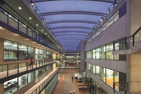 University of the Arts campus for Central St Martins, London