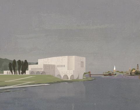 Adam Khan Architects - Kaunas concert hall