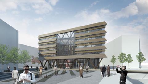 FCBS' The Vaux building in Sunderland