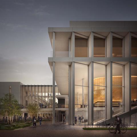 Cavendish Laboratory III by Jestico & Whiles for Cambridge University