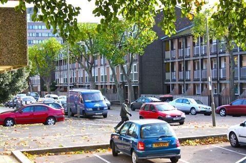Winstanley Estate in Battersea