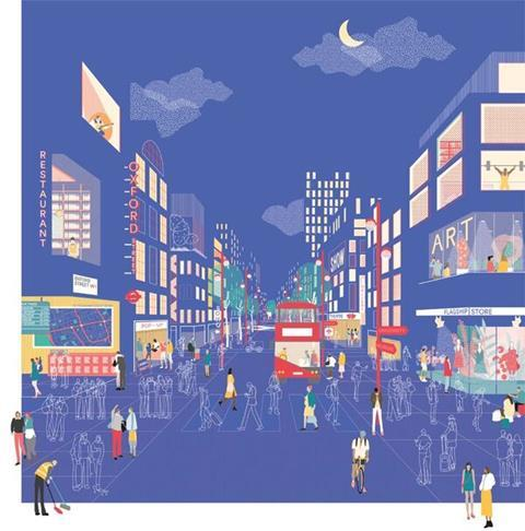 Oxford Street vision by New West End Company