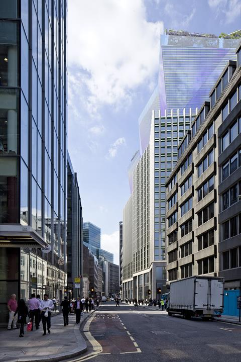Eric Parry City of London scheme