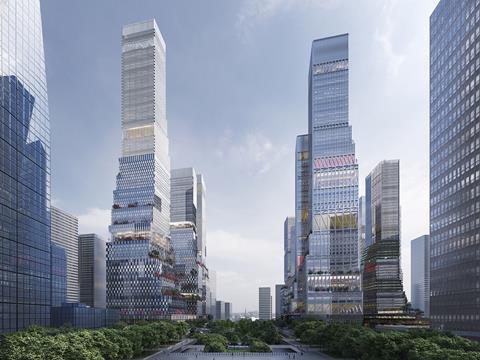 Mecanoo's Shenzhen North Station masterplan