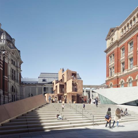 MultiPly at the V&A by Waugh Thistleton and Arup