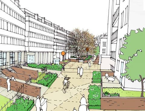 Penoyre and Prassad's proposals for Clarendon Walk