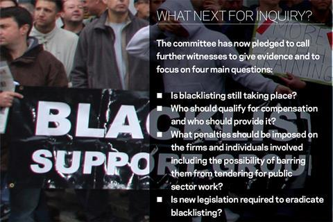 Blacklist fact box