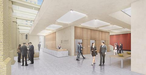 Cambridge Judge Business School foyer