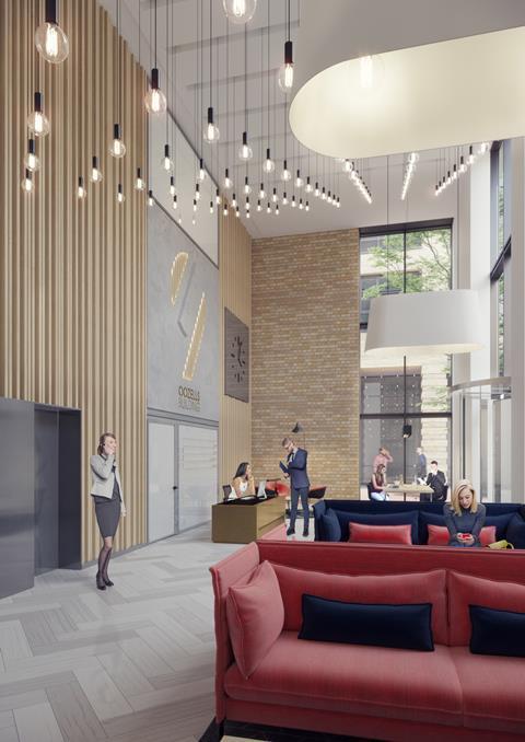 Oozells building reception