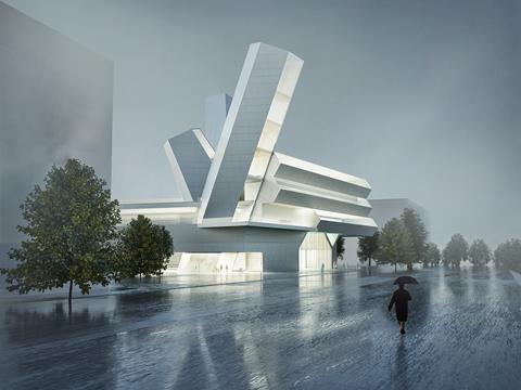 Steven Holl Architects' proposals for University College Dublin