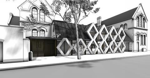 Tony Fretton Architects Roupell Street plans