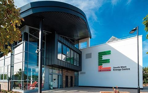 South Devon College's Energy Centre, where Schneider Electric has installed an intelligent BMS that monitors and analyses energy use