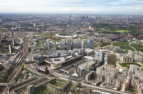 Stratford City Aerial View