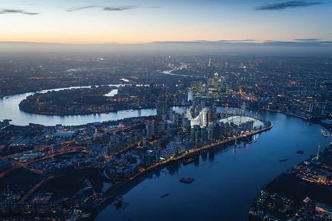Future Greenwich Peninsula