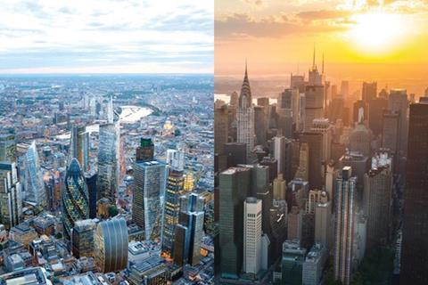London and New York