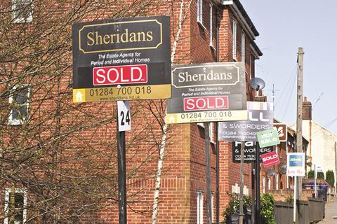 Residential for sale signs