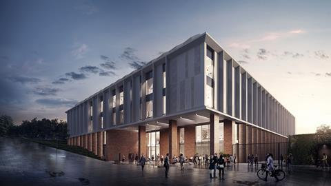 Life sciences facility University of Sussex