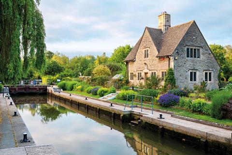 Iffley lock oxford © alamy fbyjt8web