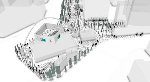 Zaha Hadid Architects' proposals for Old Street Roundabout