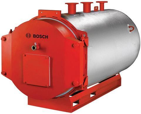 District heating boiler