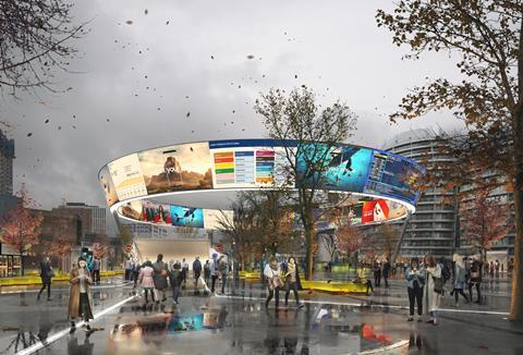 Dar Group's Old Street Circus proposals for transforming London's Old Street Roundabout